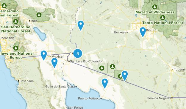 Arizona/Mexico | List | AllTrails on
