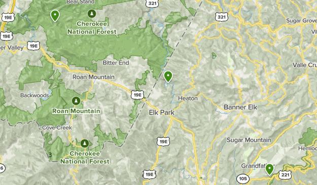 Roan Mountain Map