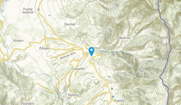 Dibër, Dibër Map