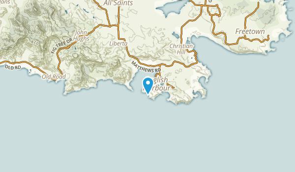 Falmouth, Antigua Map