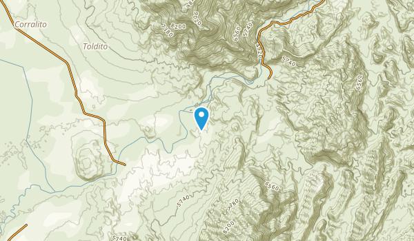 Las Conchas, Salta Map