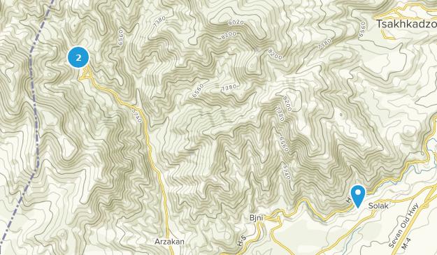 , Kotayk Map