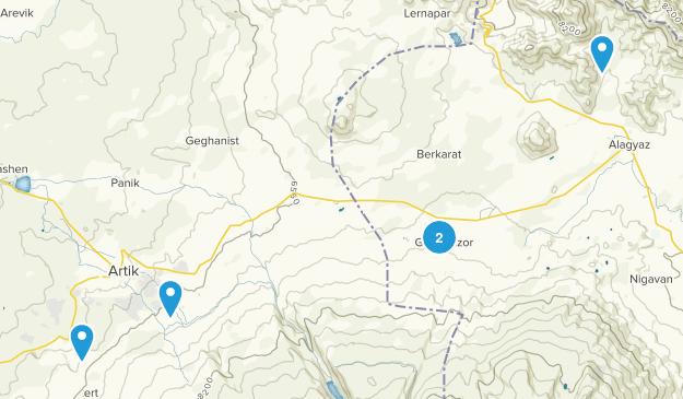 Harich, Kotayk' Map