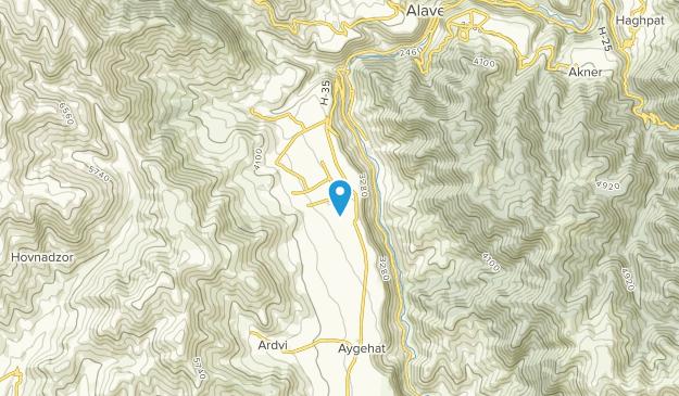 Odzun, Kotayk' Map
