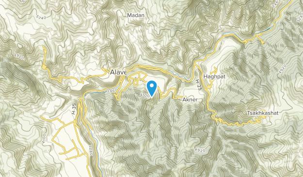 Sanahin, Kotayk' Map
