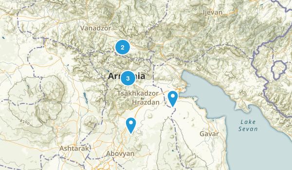 Tsakhkadzor, Kotayk' Map