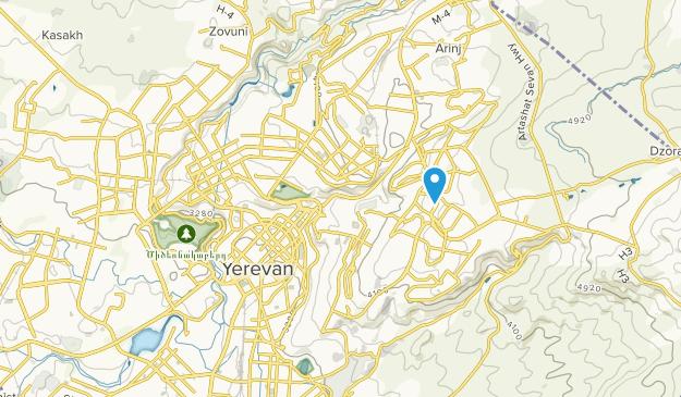 Yerevan, Kotayk' Map