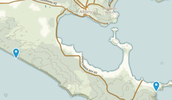 Albany, Australia Map
