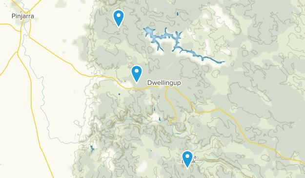 Dwellingup, Australia Map