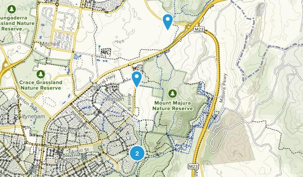 Hackett, Australian Capital Territory Map