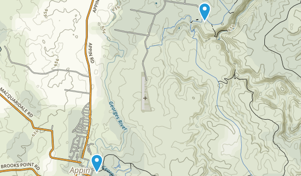 Appin, New South Wales Map