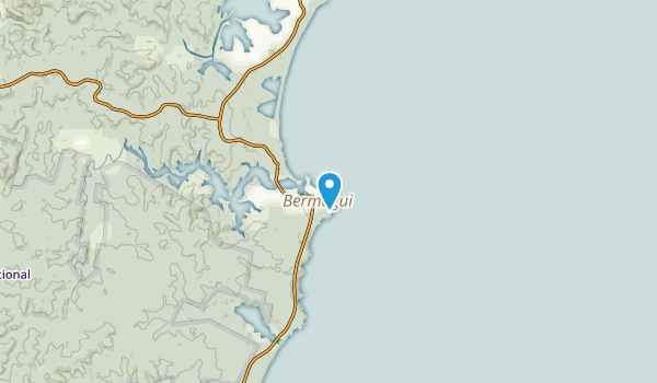 Bermagui, New South Wales Map