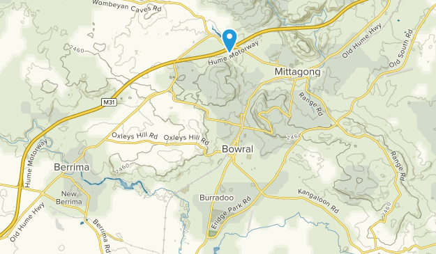 Bowral - Mittagong, New South Wales Map