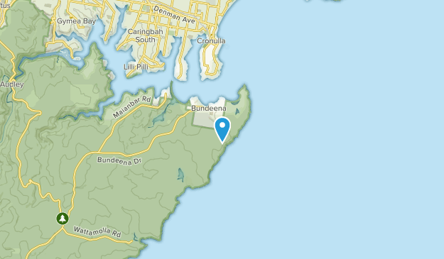 Bundeena, New South Wales Map