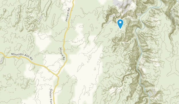 Bungonia, New South Wales Map