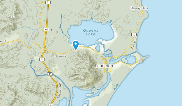 Camden Haven, New South Wales Map