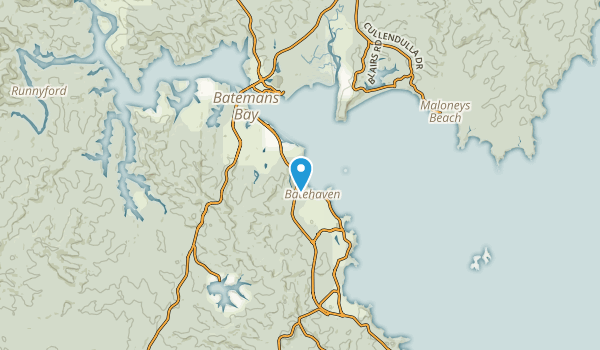 Catalina, New South Wales Map