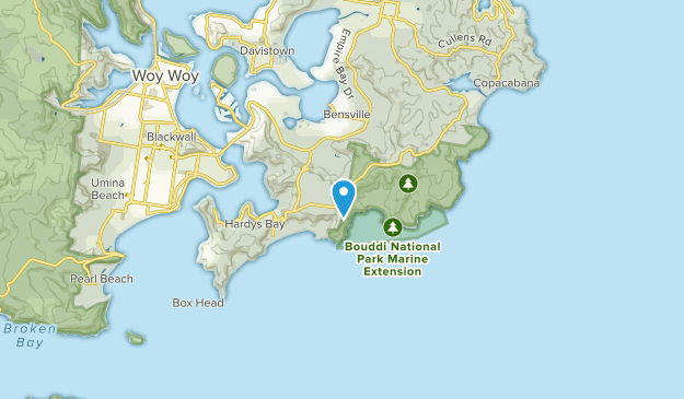 Central Coast, New South Wales Map