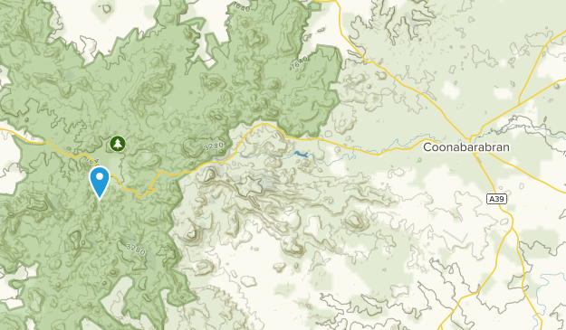 Coonabarabran, New South Wales Map