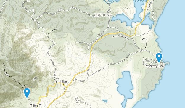 Corunna, New South Wales Map