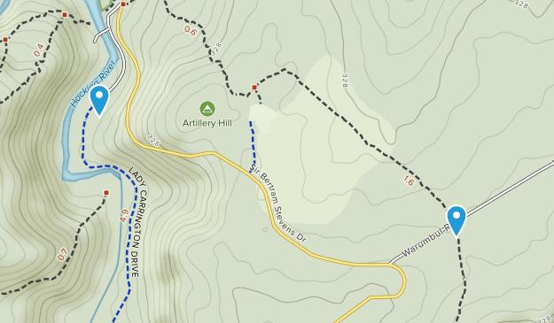 Heathcote, New South Wales Map