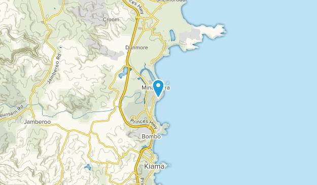 Kiama, New South Wales Map