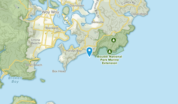 Killcare Heights, New South Wales Map