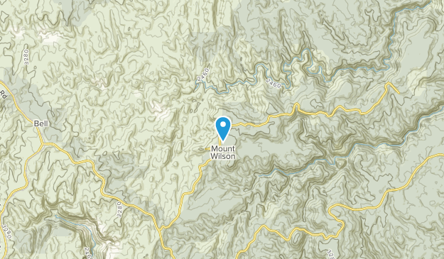 Lithgow, New South Wales Map