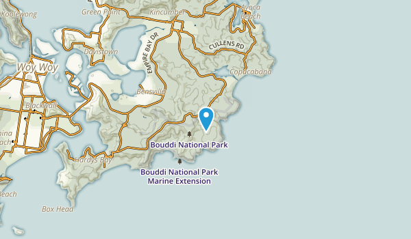 Macmasters Beach, New South Wales Map