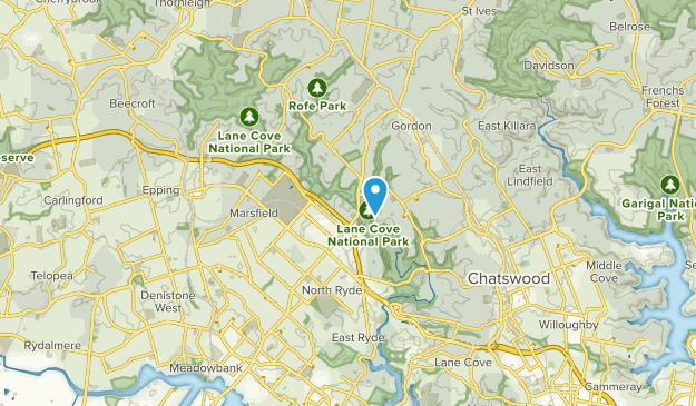 Macquarie Park, New South Wales Map