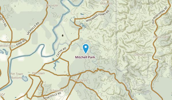 Maraylya, New South Wales Map
