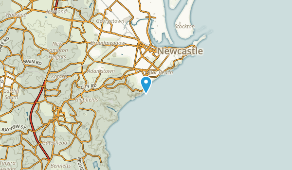 Merewether, New South Wales Map