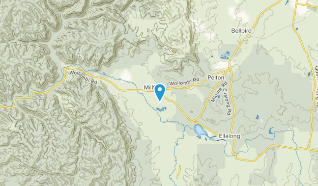 Millfield, New South Wales Map