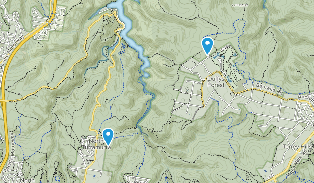 North Turramurra, New South Wales Map