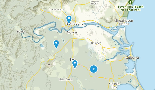 Nowra - Bomaderry, New South Wales Map