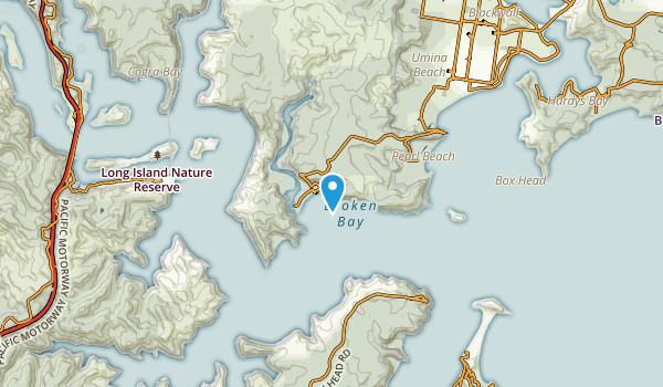 Patonga, New South Wales Map