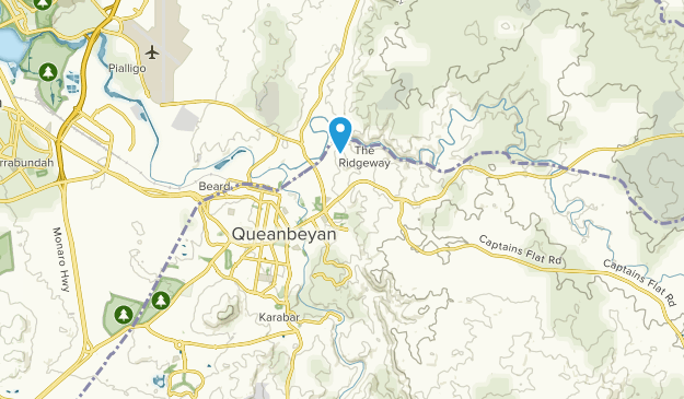 Queanbeyan, New South Wales Map