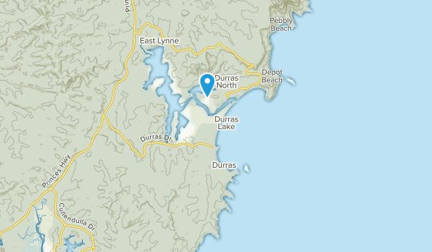 South Durras, New South Wales Map