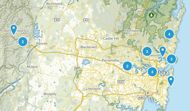 Sydney, New South Wales Map