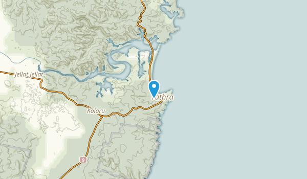 Tathra, New South Wales Map