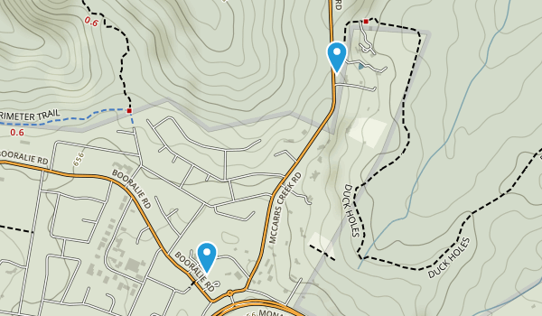 Terrey Hills, New South Wales Map