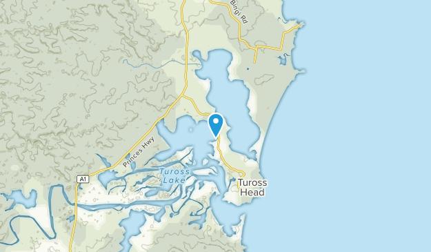 Tuross Head, New South Wales Map