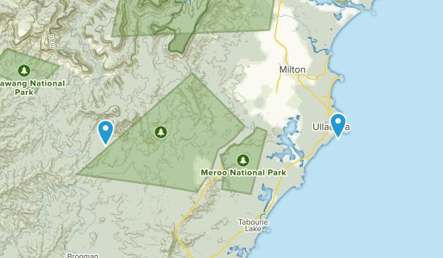 Ulladulla, New South Wales Map