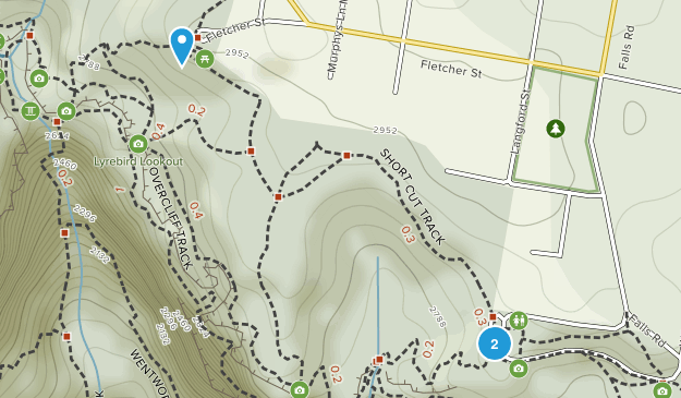 Wentworth Falls, New South Wales Map