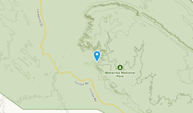 Lila, Northern Territory Map