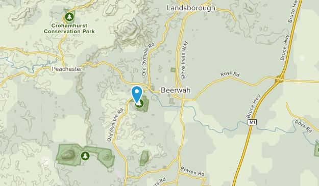 Beerwah, Queensland Map