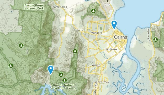 Cairns North, Queensland Map