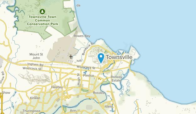 Castle Hill, Queensland Map