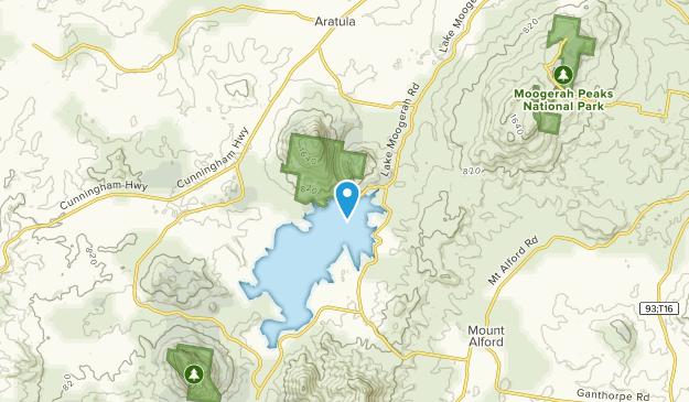 Charlwood, Queensland Map