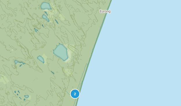 Eurong, Queensland Map